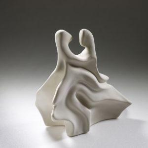 Sculpture couple réalisée par Artcor, artiste sculpteur