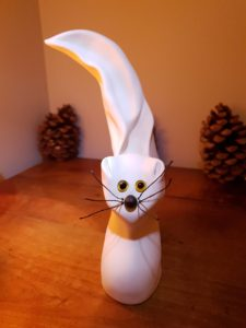 Sculpture d'animaux, Le Chat réalisée par Artcor