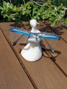Sculpture argile porte lunette- Number 137- Artcor