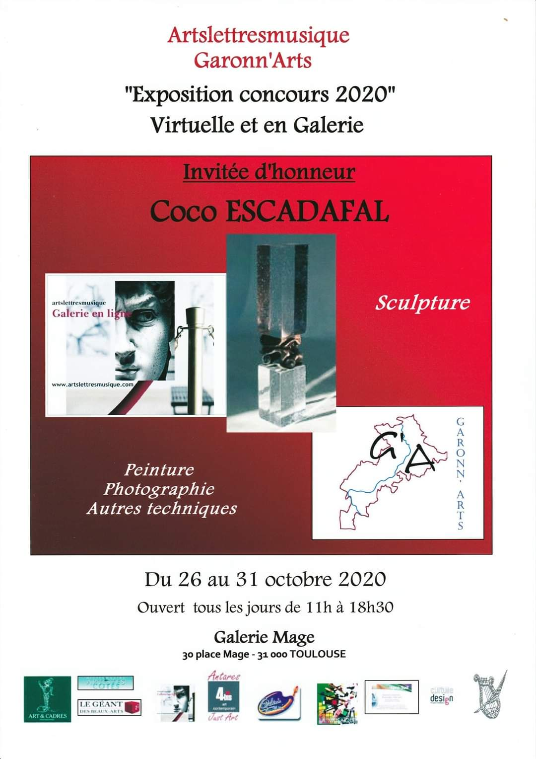 Exposition Concours 2020 @ Galerie Mage